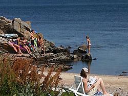Camping, Familiecamping, campingplads, Campingpladser - Bornholm     -  Sannes Familiecamping