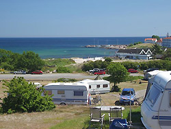 Camping, Familiecamping, campingplads, Campingpladser - Bornholm     -  Sandvig Familie Camping