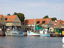 Bornholm: Folkemøde overnatning Sommerhus, Feriehus, Hotel, Pension  -  Hotel Siemsens Gaard
