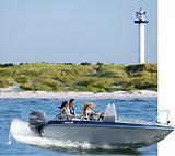Forlystelser-oplevelser-Attraktioner og Action på Bornholm.  -  Bådudlejning - Outdoor
