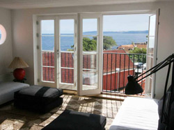 Bornholm: Folkemøde overnatning Sommerhus, Feriehus, Hotel, Pension  -  Maison du Nord