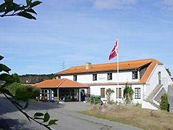 Ferien - Urlaub in der Jugendherberge auf Bornholm    - Danhostel Sandvig